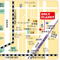 ♪♪ 大阪中崎町の地図...