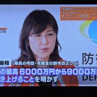12/7 稲田防衛大臣、区切りのいいところで1億にしてください