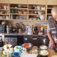 6月3日土曜日「須永晃仁先生の料理と瞑想講座」です。