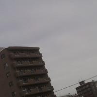 2017/1/18 午前10時半過ぎ札幌の空模様