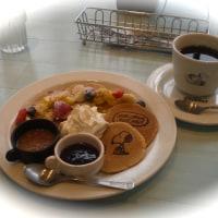 パンケーキ@Cafe Blanket