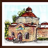 ブルガリア・ルーマニア旅行シリーズ その39 プロヴディフ(ブルガリア)市内のモスク