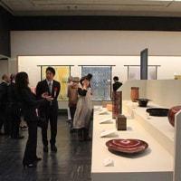 伝統工芸展、木竹工部会展が始まりました。