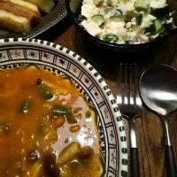 3S(サンド、スープ&サラダ)の夜