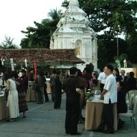 タイの象のお絵かき。タイチェンマイにて