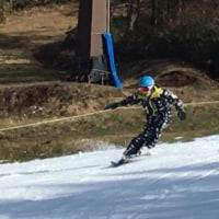 箕輪スキー場トレーニング2日目