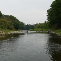 碓氷川、鮎釣り。午後、竿を出してみました。