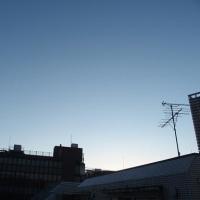 東京の今朝の天気(1月12日):晴れ