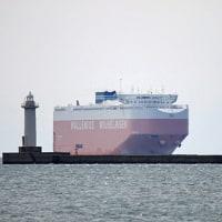 大型船の入港@播磨新島-72
