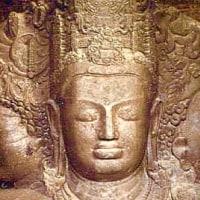 3つの顔のシヴァ神