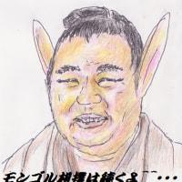 大相撲九州場所千秋楽ですが・・・