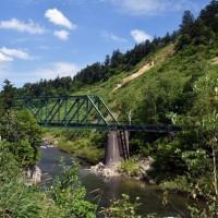 第三雨龍川橋梁 深名線 9月1日 2016年