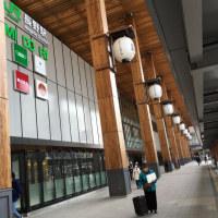 新しくなっていた長野駅