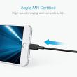 amazon「Anker PowerLine II Dura ライトニングUSBケーブル【Apple MFi認証取得 / iPad iPhone iPod】1.8mブラック