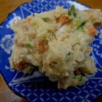 おばさんの料理教室No.2470 ヤーコンを使ったポテトサラダ