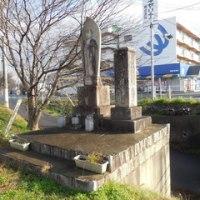 岡山県津山市の新兼田橋から加茂川を望む