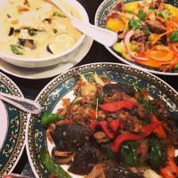 タイ料理は互角