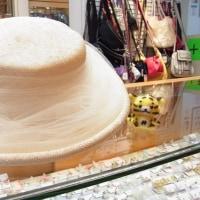 本日のお勧めはエレガント&上品な帽子です♪福岡の質屋ハルマチ質店