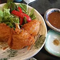 元気レストラン・メカジキのアゴ唐カレー味定食