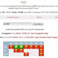番外 QSLカード到着 From 島根 & ClubLog