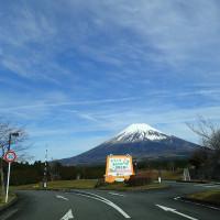 今日のこどもの国の富士山