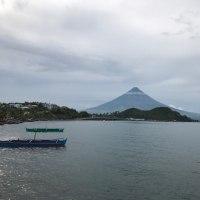 今のマヨン山