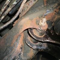 1966 キャデラック 修理ー11(足回り)