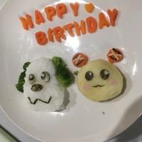 お孫ちゃんの誕生日