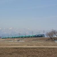 3月25日撮影 東線貨物3本