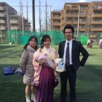 虹奈、日本体育大学卒業!!