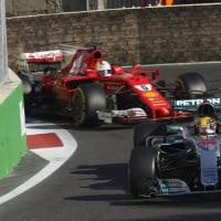 ハミルトン、ベッテルを批判。「故意にヒットするなんて恥ずべきこと」/F1アゼルバイジャンGP