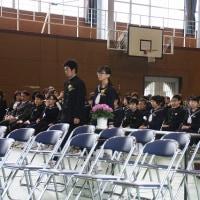 第70回卒業証書授与式