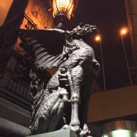日本橋の麒麟の翼の像!!!