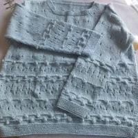 手編みセーター⑤