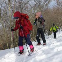 山仲間と蛇谷ヶ峰へスノーシューハイク