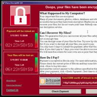 WannaCrypt ランサムウェアの被害は日本でも・・・
