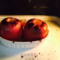 焼きリンゴっです。