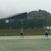 阿南市総合体育大会2日目 ソフトテニス 個人戦