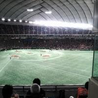 久しぶりの東京ドーム