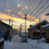大雪の朝にお引き渡しです
