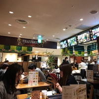 今日のお昼ごはんはペンシーズキッチンルミネ池袋店でフレッシュハーブのパクチーヌードルを食べました。