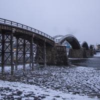 もう一度撮りたい錦帯橋の雪景色