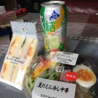 6/25(日) 本日の昼食です!