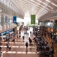 羽田空港第二旅客ターミナルから