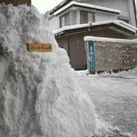 今年初めての「雪かたし」です( ^^ゞ