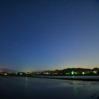 星が見える夜