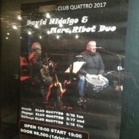 David Hidalgo & Marc Ribot Duo @渋谷クラブクアトロ