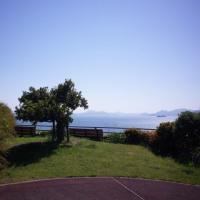 晴れた日の安芸灘