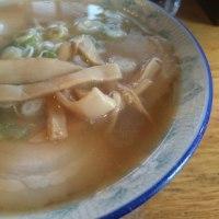 叉焼麺専門店 太陽の松(ノーマルチャーシュー麺)