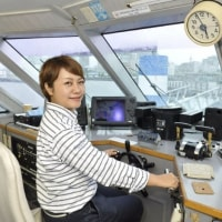 横浜港の女船長は何でもつ